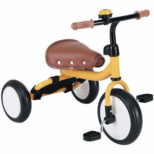 エムアンドエム(M&M) Trike(トライク) オレンジ 三輪車 サイクル ベビー 乗り物 子供