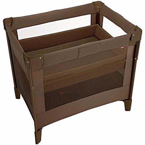 アップリカ(Aprica) ココネル エアープラス BR/チョコレート 66045 ベビーベッド ベビーラック ベビーサークル 折りたたみ 赤ちゃん 赤ちゃん