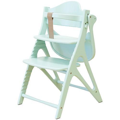 大和屋 アッフルチェア ハーブグリーン A03 ベビー ベビー キッズ ベビーチェア 子供椅子 お食事 ダイニングチェア ハイチェア 安全ベルト テーブル付き