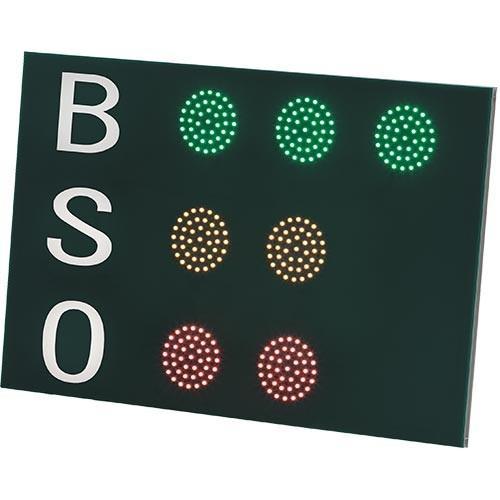 三和体育(SANWATAIKU) BSOカウンター LED 防滴仕様 S-7122 野球 ソフトボール ボールカウント アウトカウント 試合用品