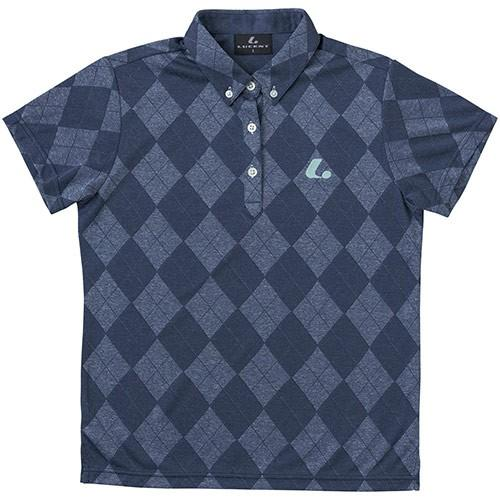 ルーセント(LUCENT) レディース テニス ゲームシャツ ネイビー XLP4996 NV テニスウェア ソフトテニスウェア トレーニングウェア