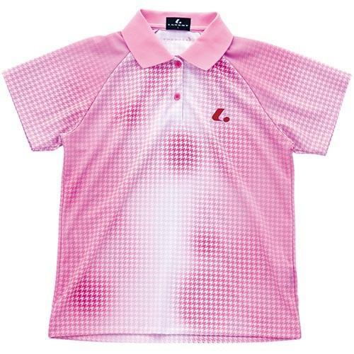 ルーセント(LUCENT) レディース 卓球 ゲームシャツ パステルピンク XLP4652P PTP 卓球ウェア トレーニングウェア