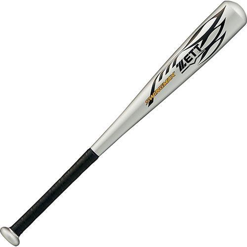 ゼット(ZETT) 野球 少年 軟式 金属製 バット スイングマックス 65cm シルバー BAT75815 1300 軟式用 金属バット