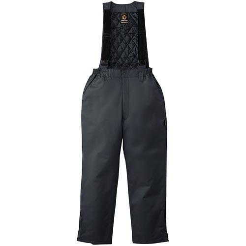 桑和(SOWA) 防水防寒サロペット 23/チャコールグレー 4Lサイズ 2209 作業着 作業服 ワークウェア ズボン パンツ メンズ
