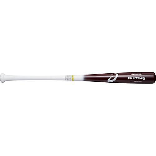 アシックス(asics) 野球 トレーニングバット 合竹 GS TRAINER MOI レッド 3121A018 600 野球用品 硬式 バット