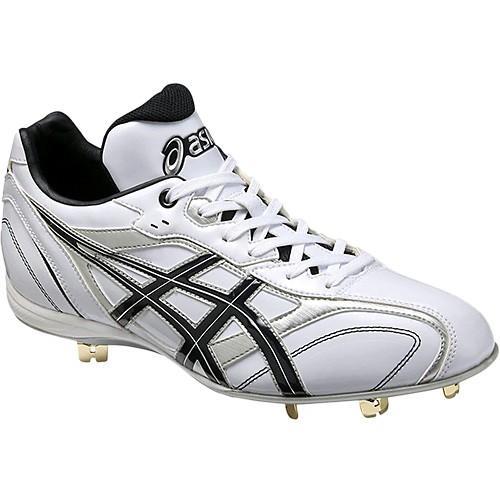アシックス(asics) メンズ ジュニア 野球 スパイク スピードラスター SPEEDLUSTER LT ホワイト×ネイビー SFS600 0150 キッズ 少年野球 子供 ベースボール