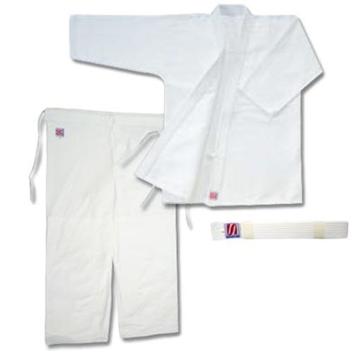 九櫻(クサクラ) 合気道衣 3号 (上衣、ズボン、帯セット) A13 合気道 SWE
