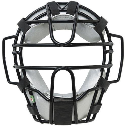 エスエスケイ(SSK) 軟式用マスク(A・B 号球対応) ブラック×シルバーグレー SSK-CNM1110CS 9096 野球 プロテクター用品 防具