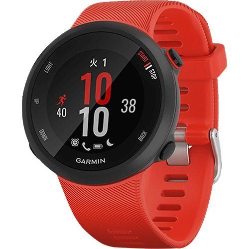 ガーミン(GARMIN) ランニングウォッチ フォアアスリート ForeAthlete 45 ラヴァレッド 010-02156-46 腕時計 トライアスロン 心拍計 活動量計 GPS 防水