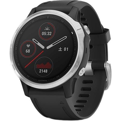 ガーミン(GARMIN) GPSスポーツウォッチ フェニックス fenix 6S ブラック 010-02159-5D ランニングウォッチ スマートウォッチ 腕時計