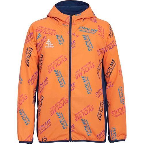 スボルメ(SVOLME) メンズ レディース ランニングウェア カラーロゴワークアウトフーディー オレンジ 7193-03001 061 ジョギング パーカー アウター