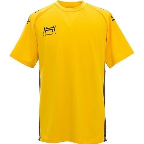 ハンガリア(Hungaria) ラグビー プラクティスシャツ TR PRACTICE SHIRT イエロー HGT001 YL プラクティスウェア 半袖 Tシャツ トップス チームウェア アメフト