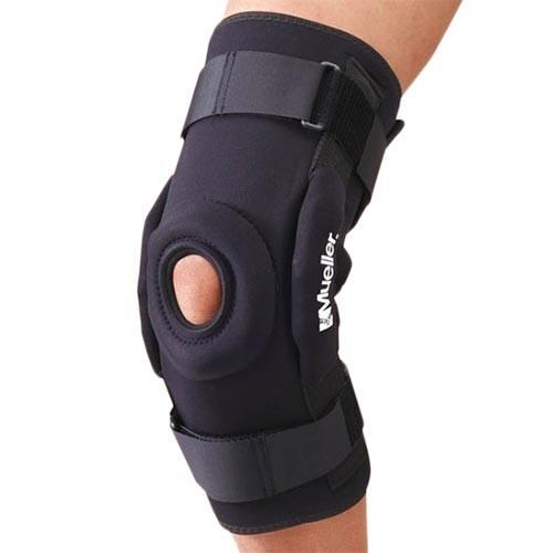 ミューラー(Mueller) プロレベル ヒンジドニーブレイス デラックスMサイズ 5333MD スポーツ用品 ボディケア ひざ 膝用 サポーター