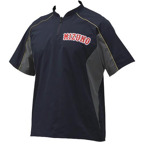 ミズノ(MIZUNO) 野球ウェア メンズ レディース ミズノプロ トレーニングジャケット ネイビー 12JE9J03 14 野球 ソフトボール ジャケット 半袖 ウォームアップ