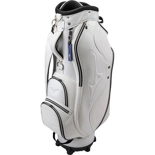 ミズノ(MIZUNO) メンズ ゴルフ キャディバッグ ライト スタイル LIGHT STYLE PR ホワイト 5LJC192100 01 キャディーバッグ ゴルフバッグ ゴルフ用品