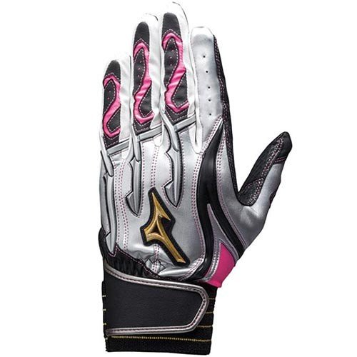 ミズノ(MIZUNO) バッティング グローブ 1EJEA13103 野球用グローブ 手袋 バッティング用グローブ