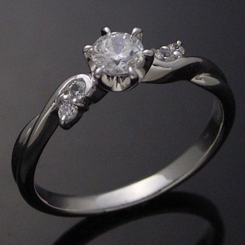 魅力の PT 0.3ct!!エンゲージリング 婚約指輪★CE67PT, ハタショウチョウ 9c993da2