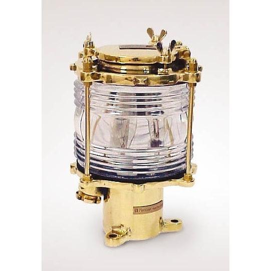 玄関照明 玄関 照明 門柱灯 門灯 外灯 屋外 ガーデンライト 庭園灯 マリンランプ マリンライト モールスシグナル FMS01121 E17 ミニクリプトン電球 25W×3
