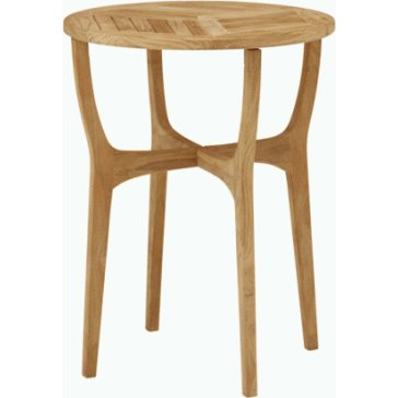 ガーデンテーブル カフェテーブル TeakStyleロータステーブル60 チーク材 ガーデニングテーブル ガーデンファニチャー 組立品