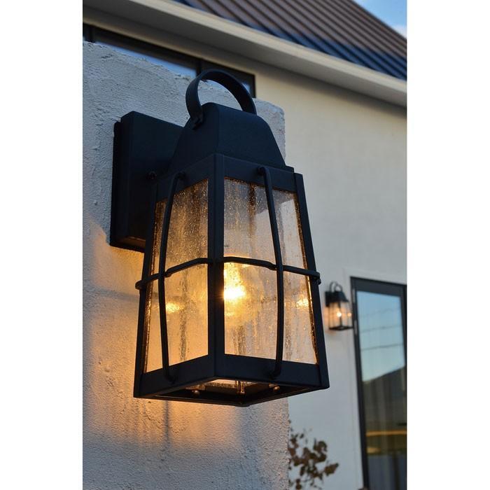 玄関 照明 LED 屋外 ポーチライト 門柱灯 門灯 門灯 外灯 防雨型 ウォールマウントライト クラシック k-9552BKTLD KICHLER キチラー ブラケット 照明器具