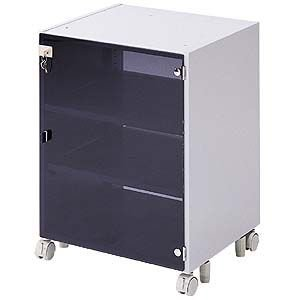 CPUボックス 天板固定用 扉付 CAI-CP4N サンワサプライ 代引不可 個人様宅への配送不可 ネコポス非対応