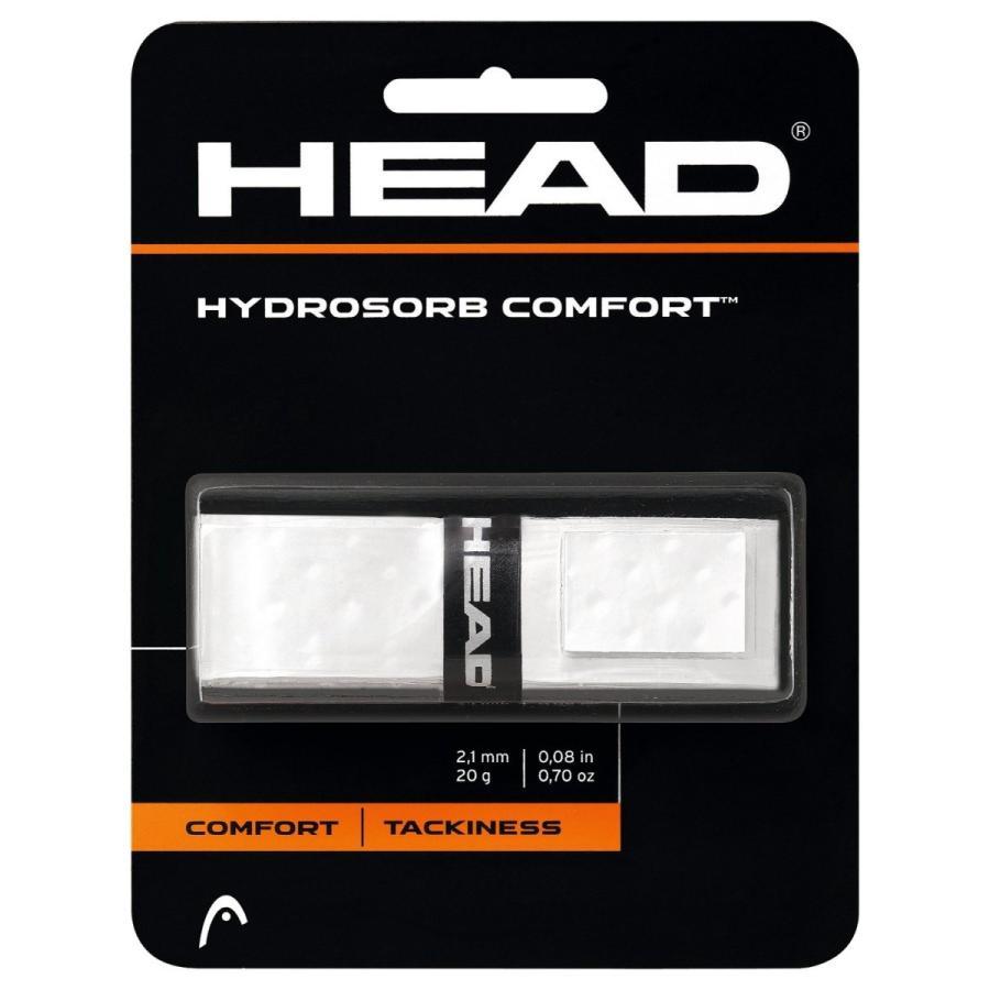 HEAD(ヘッド) テニス リプレイスメントグリップ ハイドロゾーブ・コンフォート ホワイト 285313|esushoppu