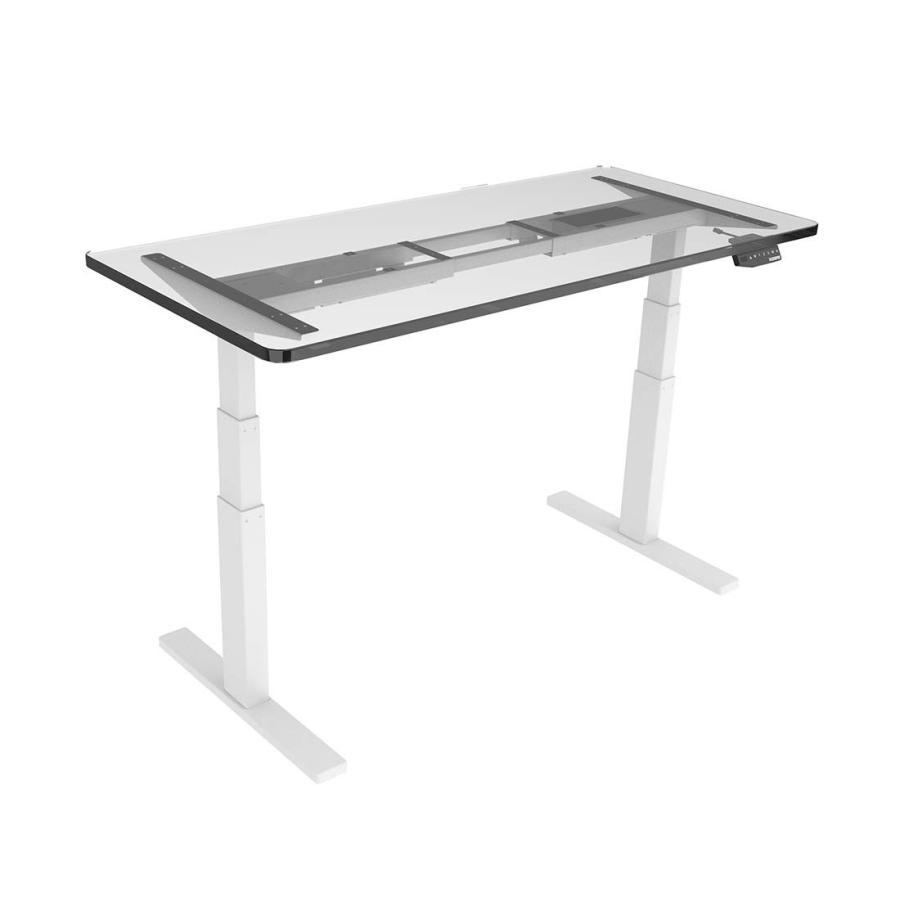 FlexiSpot 電動式スタンディングデスク 高さ調節デスク ワークテーブル ワークテーブル 書斎デスク ホワイトE3W