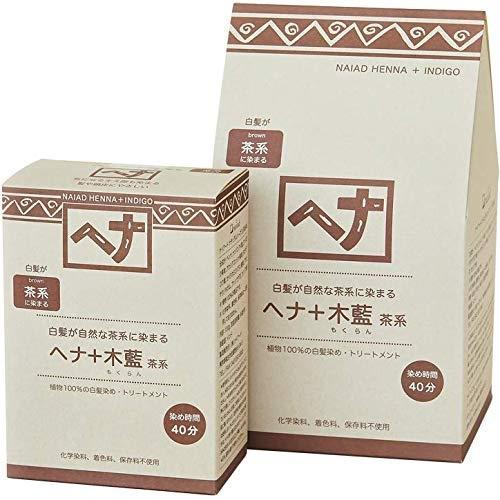 Naiad(ナイアード) ヘナ+木藍 茶系 400g|esushoppu|03