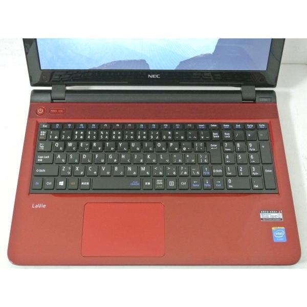 [美品][送料無料]NEC LaVie S LS150/TSR PC-LS150TSR [ルミナスレッド] (Celeron Dual-Core 2957U(Haswell)/4GB/750GB/DVDマルチ/Windows10搭載)|et8|02