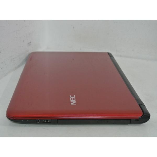 [美品][送料無料]NEC LaVie S LS150/TSR PC-LS150TSR [ルミナスレッド] (Celeron Dual-Core 2957U(Haswell)/4GB/750GB/DVDマルチ/Windows10搭載)|et8|03