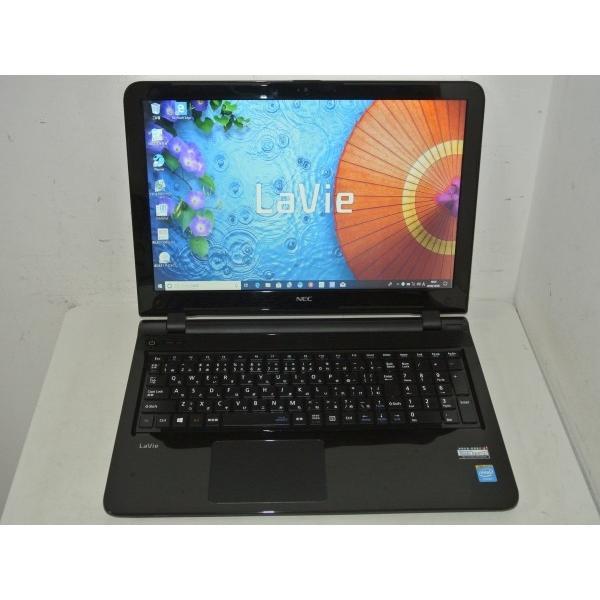 NEC LaVie S LS150/SSB PC-LS150SSB [スターリーブラック] (Celeron Dual-Core 2957U(Haswell)/4GB/750GB/DVDマルチ/Win10搭載)[中古品][送料無料]|et8