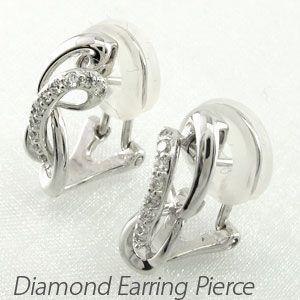 品質保証 ダイヤモンド イヤリング シンプル レディース クリップ ゴールド 18k ピアス ピアス 18k シンプル ウェーブ 18金 K18, ダーマカラーのブルーヘブン:89ad05d1 --- airmodconsu.dominiotemporario.com