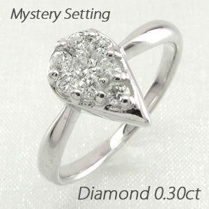 【ついに再販開始!】 リング ダイヤ プラチナ 指輪 レディース ダイヤモンド ドロップ つゆ 900, シムススタイル d064ac34