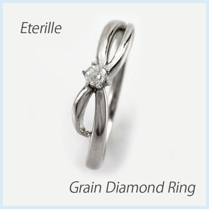 正規店仕入れの ダイヤモンド リング 一粒 指輪 ゴールド 華奢 ダイヤリング 18金 18k K18, 夢の小屋 6589371f