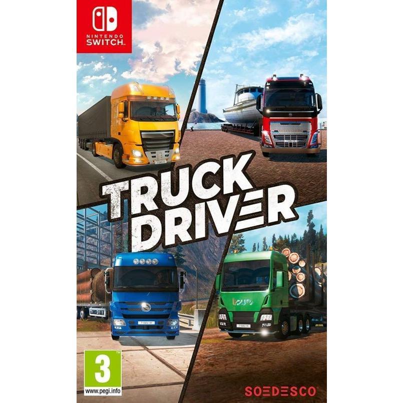 新品】Truck Driver トラックドライバー Nintendo switch 日本語対応 ...