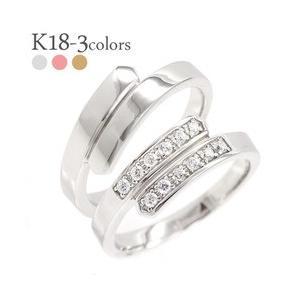 【70%OFF】 結婚指輪 ペアリング 2本セット 2本セット k18ゴールド ダイヤモンド ペアリング 0.1ct 18金 k18ゴールド マリッジリング メンズ セット レディース, SOLOTTA:07f4a4e3 --- chizeng.com