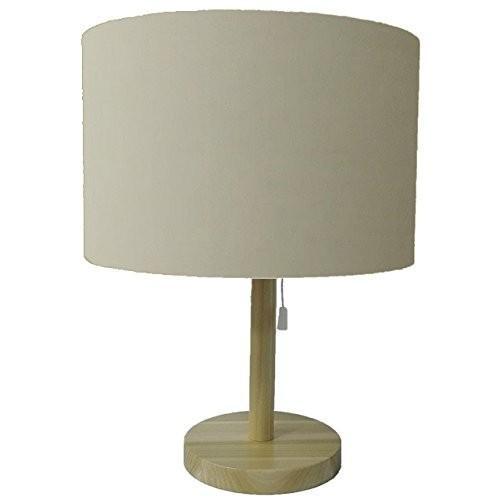 lamp-shade テーブルライト 一体型 シェード 北欧風 普通布 ベージュ 直径28cm S2260NA-28281 S2260NA-