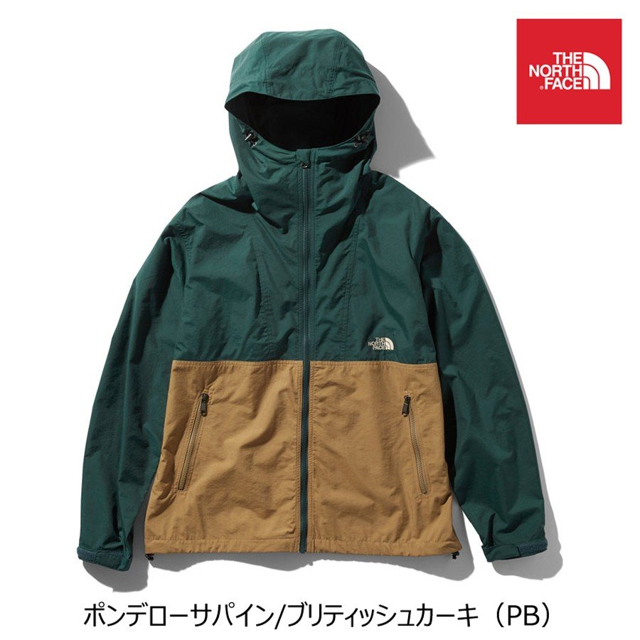 THE NORTH FACE COMPACT JACKET ノースフェイス コンパクトジャケット メンズ 軽量 撥水 ナイロンジャケット 正規取扱店
