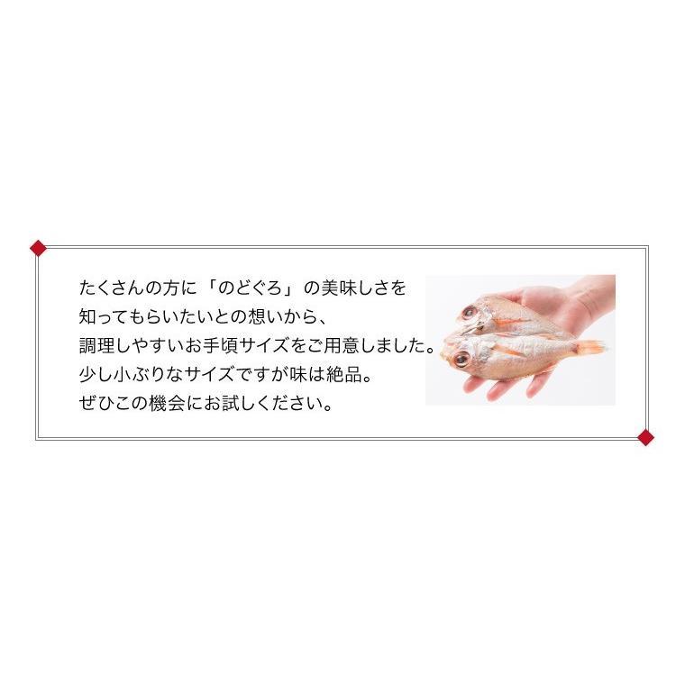 プレゼント ギフト 干物セット のどぐろ 2枚入 6種18枚 辛子明太子 高級  魚 詰め合わせ 送料無料  ((冷凍))|etizentakaraya|10