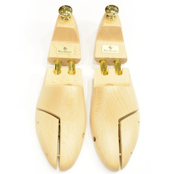 サルト・レカミエ シューツリー(シューキーパー/SHOETREE)トラッドシューズ(グッドイヤーウエルトの英国靴)用「SR100EX」バネ式ツインチューブ式 ブナ材|eton