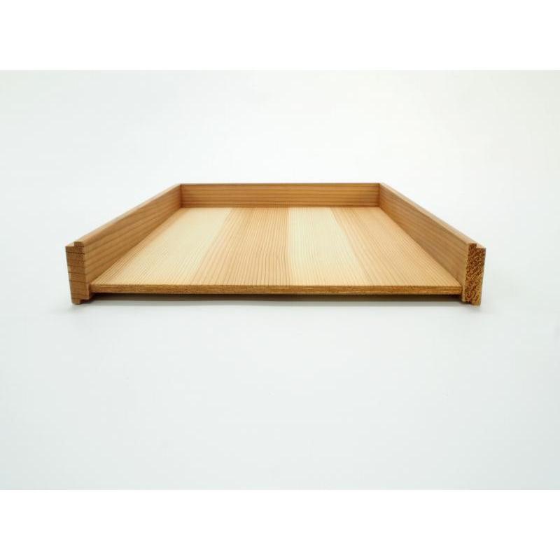木製レターラック 書類トレー 積重ね可能 国産杉材使用|etosebisuyashop|04