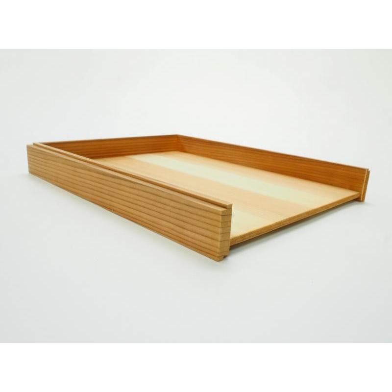木製レターラック 書類トレー 積重ね可能 国産杉材使用|etosebisuyashop|05