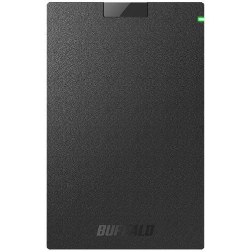 ポータブルHDD エレコム MiniStation HD-PGAC2U3-BA [USB3.2(Gen1)対応ポータブルHDD 2TB ブラック]