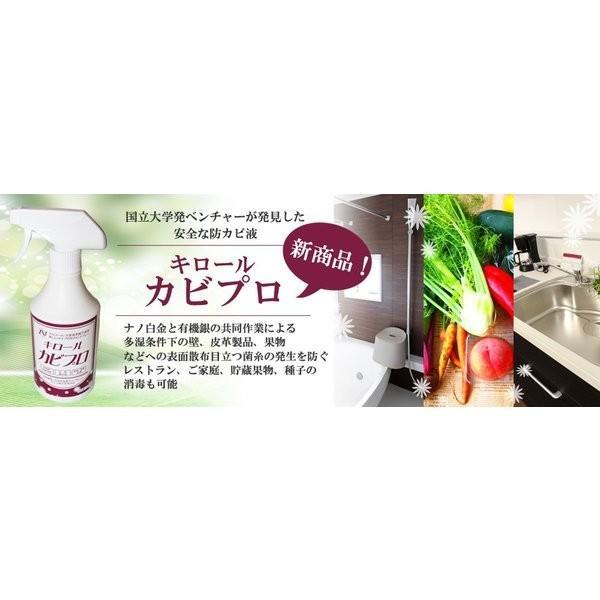 除菌 スプレー 防カビ 抗菌 静岡大学発ベンチャー開発 キロール・カビプロ 500ml|eu-bs|02