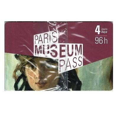 パリミュージアムパス4日券(96時間券)|eurlink