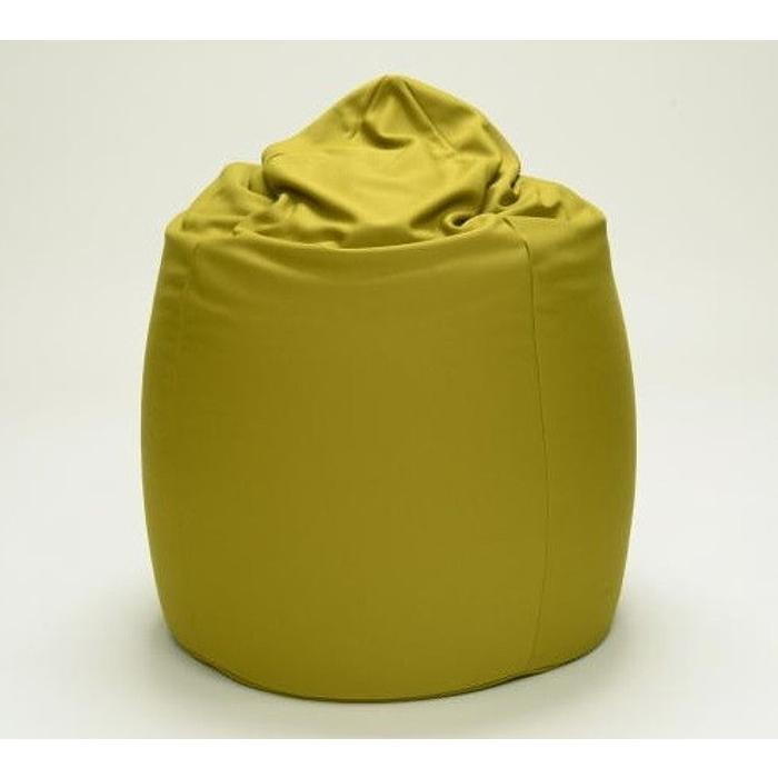 ビーズクッションソファー W60×D60×H60 BEADS-WABI-SM グリーン色 グリーン色 ワビサビ