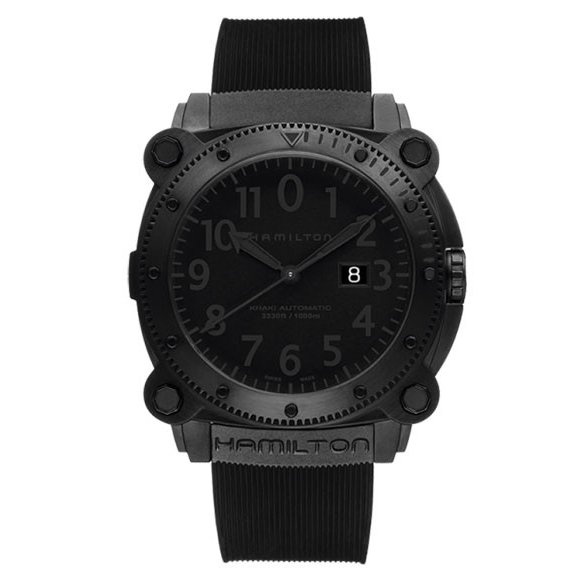 official photos a099b 188ad ハミルトン カーキ ネイビー ビロウゼロ H78585333 腕時計 ...