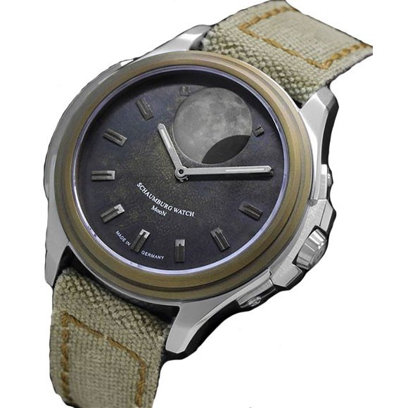 注目 シャウボーグ ムーンクレーター MooN Crater 腕時計 自動巻 自動巻 メンズ メンズ 腕時計 SCHAUMBURG, ヒラオチョウ:faadfbfd --- airmodconsu.dominiotemporario.com