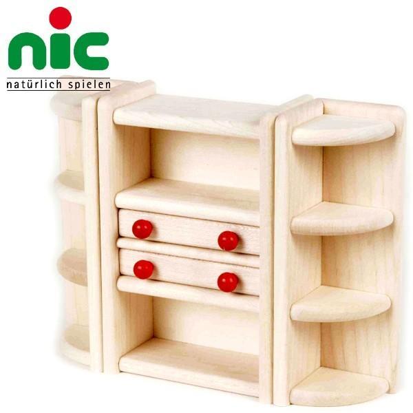 nic ニック社 Bodo Hennig ボードヘニッヒ ドールハウス 人形の家用 飾り棚