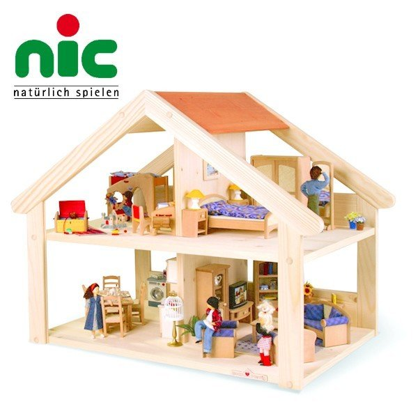 nic ニック社 Bodo Hennig ボードヘニッヒ 木製ドールハウス 人形の家 プリメラ
